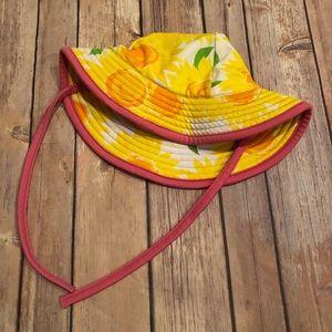 Hanna sunflower sun hat